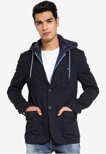 Desigual navy Tailored Sport Blazer A4BB3AAB186C8BGS_1