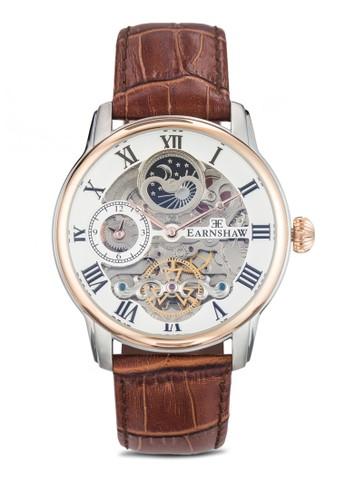 Longitude 機esprit 請人芯鏤空羅馬數字手錶, 錶類, 飾品配件