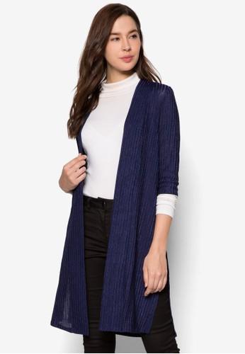 長版開襟zalora是哪裡的牌子外套, 服飾, 外套