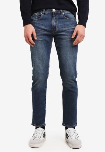 Electro Denim Lab blue Calypso Slim Tapered Jeans EL966AA0SF7QMY_1