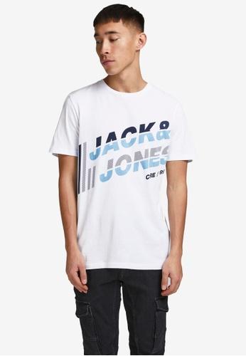 Jack & Jones white Alpha Short Sleeves Tee 7D0EEAA41A1CBAGS_1