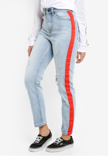 Factorie red and blue The Original High Rise Jeans E0697AA88A690EGS_1