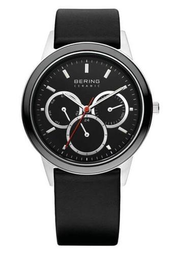 Bering silver Ceramic 33840-442 Black 40 mm Unisex Watch 8FF19ACF349420GS_1