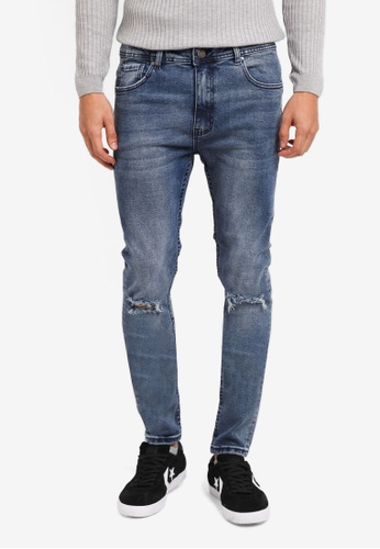 Cotton On blue Super Skinny Jeans D2BCAAA58EEAF4GS_1