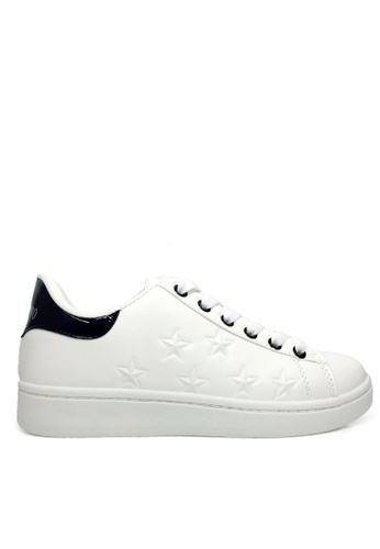 Twenty Eight Shoes Embossed Stars Sneaker VCH32 TW446SH2UVITHK_1