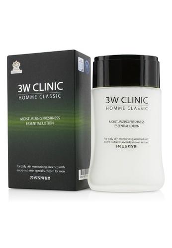 3W Clinic 3W CLINIC - Homme Classic - Moisturizing Freshness Essential Lotion 150ml/5oz ABADEBEBD9DB7EGS_1