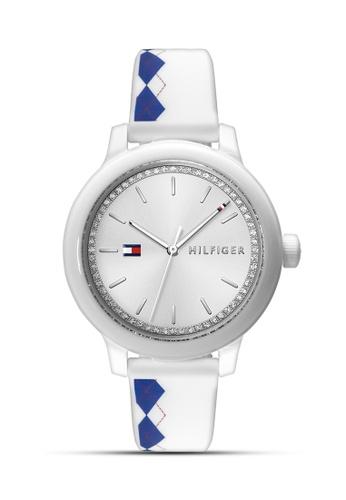 8b76413b8 Shop Tommy Hilfiger Watches Women's Silicon Strap Watch Online on ZALORA  Philippines