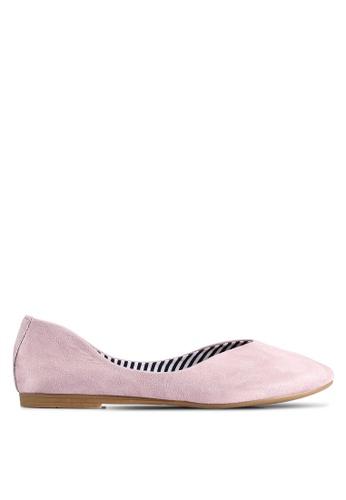 BETSY 紫色 Alexis Ballet 平底鞋 9B85FSH1D01B7EGS_1