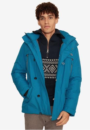 Aigle blue Ternan Gore-Tex® Waterproof Jacket 35584AA32EB5D4GS_1