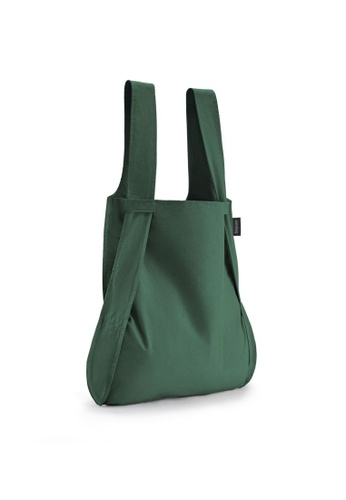 NOTABAG green Notabag Original Convertible Tote Backpack - Forest Green AE5C8ACA783C72GS_1