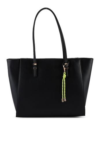 Call It Spring black Vivaglam Tote Bag AB87AACFF0A745GS_1