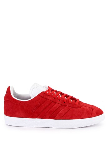 adidas red adidas originals gazelle stitch and turn 81603SH4BE94D0GS_1