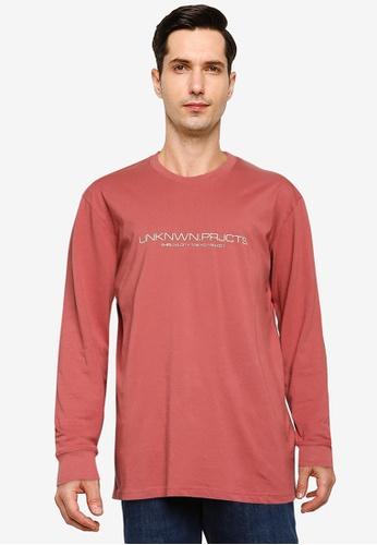 Cotton On red Tbar Long Sleeve T-Shirt 6E38DAA514FFDAGS_1
