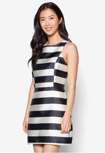 條紋連身裙, 服zalora 包包評價飾, 洋裝