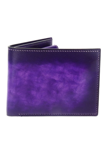 Jonathan Abel purple Jonathan Abel Isaiah Wallet - Amethyst Patina 3E836AC83F3AE7GS_1