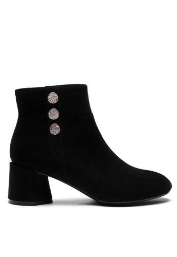 Twenty Eight Shoes 羊猄布踝靴1910-2 84223SHE200B65GS_1
