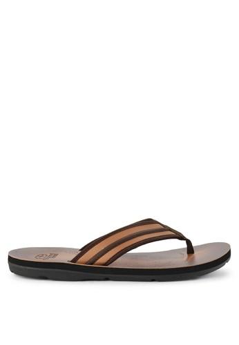 No Fear brown Effort - Regular Fit Super Sandals EC05FSHB72E634GS_1