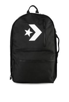 9885b6a835c Converse black Cordura Street 22 Backpack 7C281AC65F1436GS_1