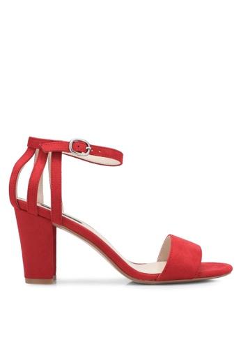 ZALORA red Back Strappy Heels 9C473SH6FEDA4BGS_1