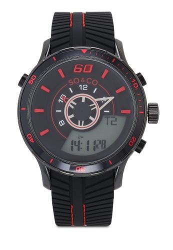 SO&CO black Monticello 5035.4 Watch E99ACAC05971A4GS_1
