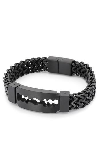 HAPPY FRIDAYS Creative Blade Titanium Steel Bracelet KL149653 3F266ACD56D9ADGS_1