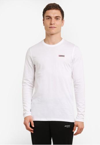 2GO white Full Sleeve Round Neck T-Shirt 2G729AA0S5Z2MY_1