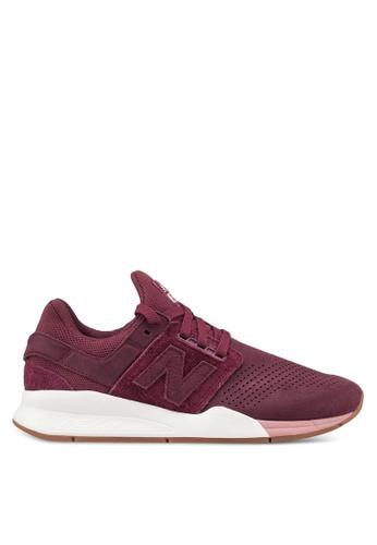 New Balance 紅色 247 Lifestyle 運動鞋 5ADCCSHD4CB355GS_1