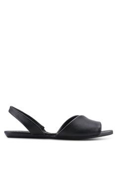 99c46e7aeca3 ALDO black Roedien Sandals 699B4SHAD29DABGS 1