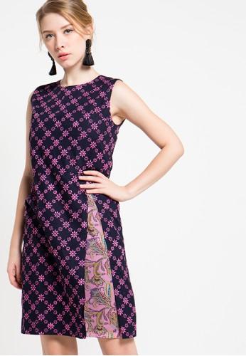 Bateeq pink Sleeveless Cotton Cap Dress BA656AA59ZTWID_1