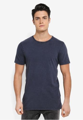 Cotton On 海軍藍色 素色短袖圓領T恤 04C65AA570774EGS_1