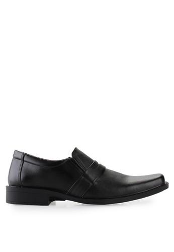 Dr. Kevin black Business & Dress Shoes Shoes 13280 Genuine Leather DR982SH72GVZID_1