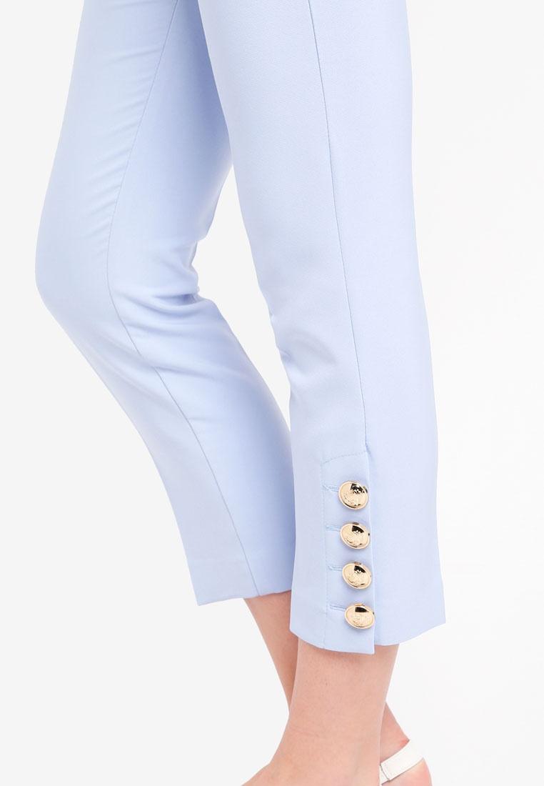 Button River Island Cigagrette Blue Trousers Juniper wZwfqaxvS