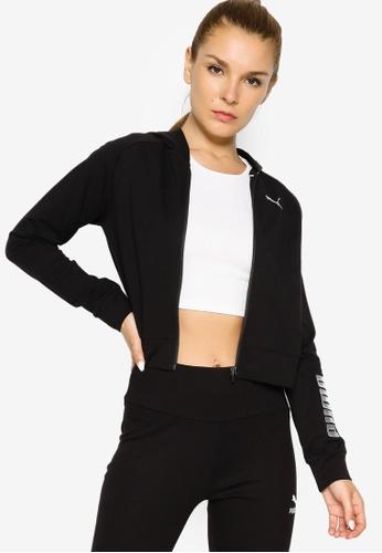 PUMA black RTG Full-Zip Women's Hoodie 100E0AA137E8B0GS_1