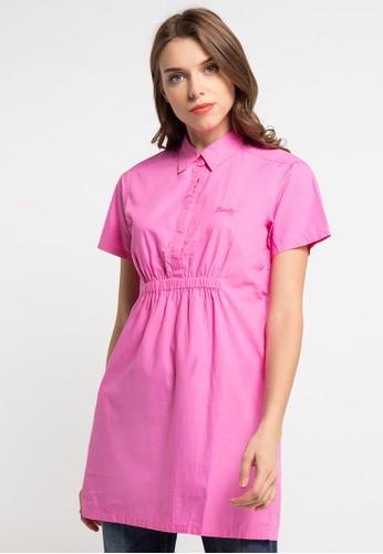 Miyoshi Jeans pink Dress Button 07 MI115AA0WQTXID_1