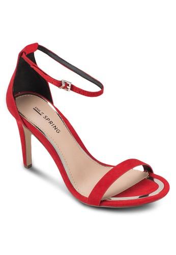 Liranielesprit 台北 簡約包跟繞踝高跟鞋, 女鞋, 鞋