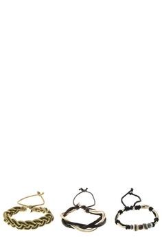 Olivine Stack Bracelet