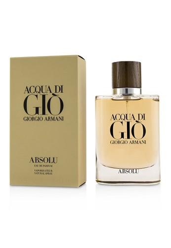 Giorgio Armani GIORGIO ARMANI - Acqua Di Gio Absolu Eau De Parfum Spray 75ml/2.5oz 27942BEF0BEBC9GS_1