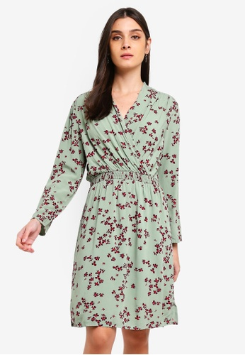fae762a9fa4cc2 Shop Vero Moda Kaya 7 8 Short Dress Online on ZALORA Philippines