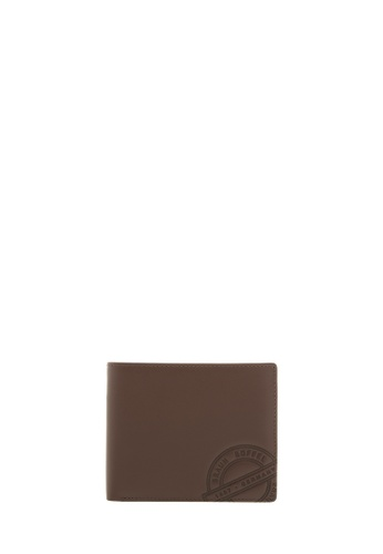 Braun Buffel brown Reynolds Wallet With Coin Compartment in Natural F4DCDAC60BFCC1GS_1