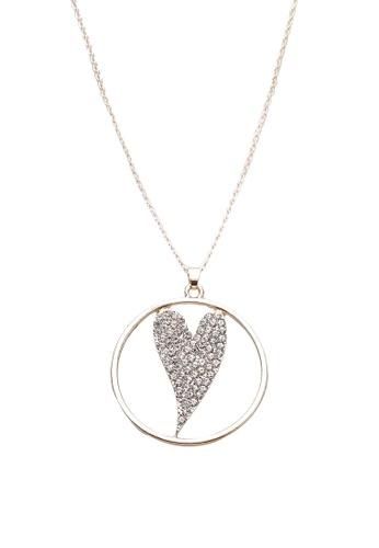 c169590f0 Buy Red's Revenge Circled Heart Charm Pendant Necklace Online on ZALORA  Singapore