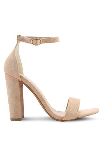 Glamorous 粉紅色 閃亮高跟鞋 12FCASHC3914BCGS_1