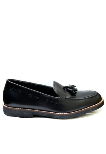 Toods Footwear black Tassel - Hitam TO932SH24JOXID_1
