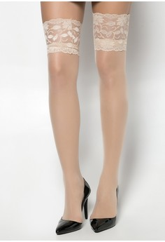 Thigh High Stocking with Lace