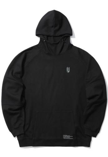 Fivecm black Logo hoodie D4C3BAAE5EDB07GS_1
