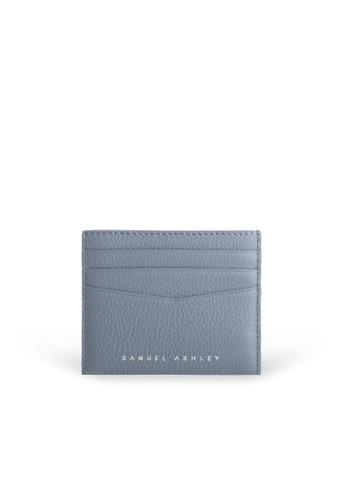 Samuel Ashley blue Finley Card Holder - Denim 12EADAC94DE7D0GS_1