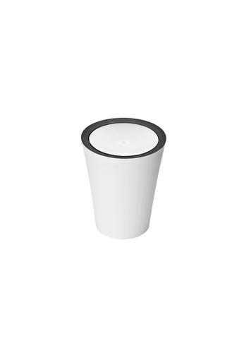 Qualy Qualy Mini Round Flip Bin (White) F85F7HLF850FB3GS_1