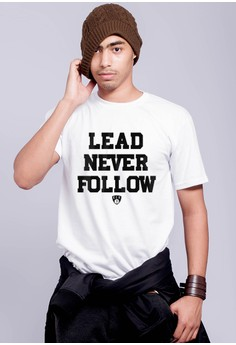 Lead Never Follow T-shirt