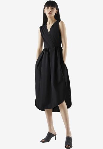 COS black High-Waisted Dress A31EAAAF6B810FGS_1