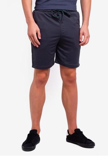 UniqTee grey Jogging Style Bermuda Shorts 6FAE4AA714CD3FGS_1