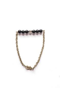 Onyx Bar Bracelet